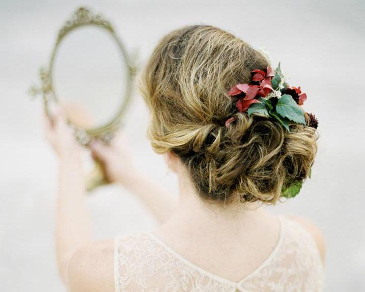 Braut Hairstyling gemacht von Make up Artist Angie