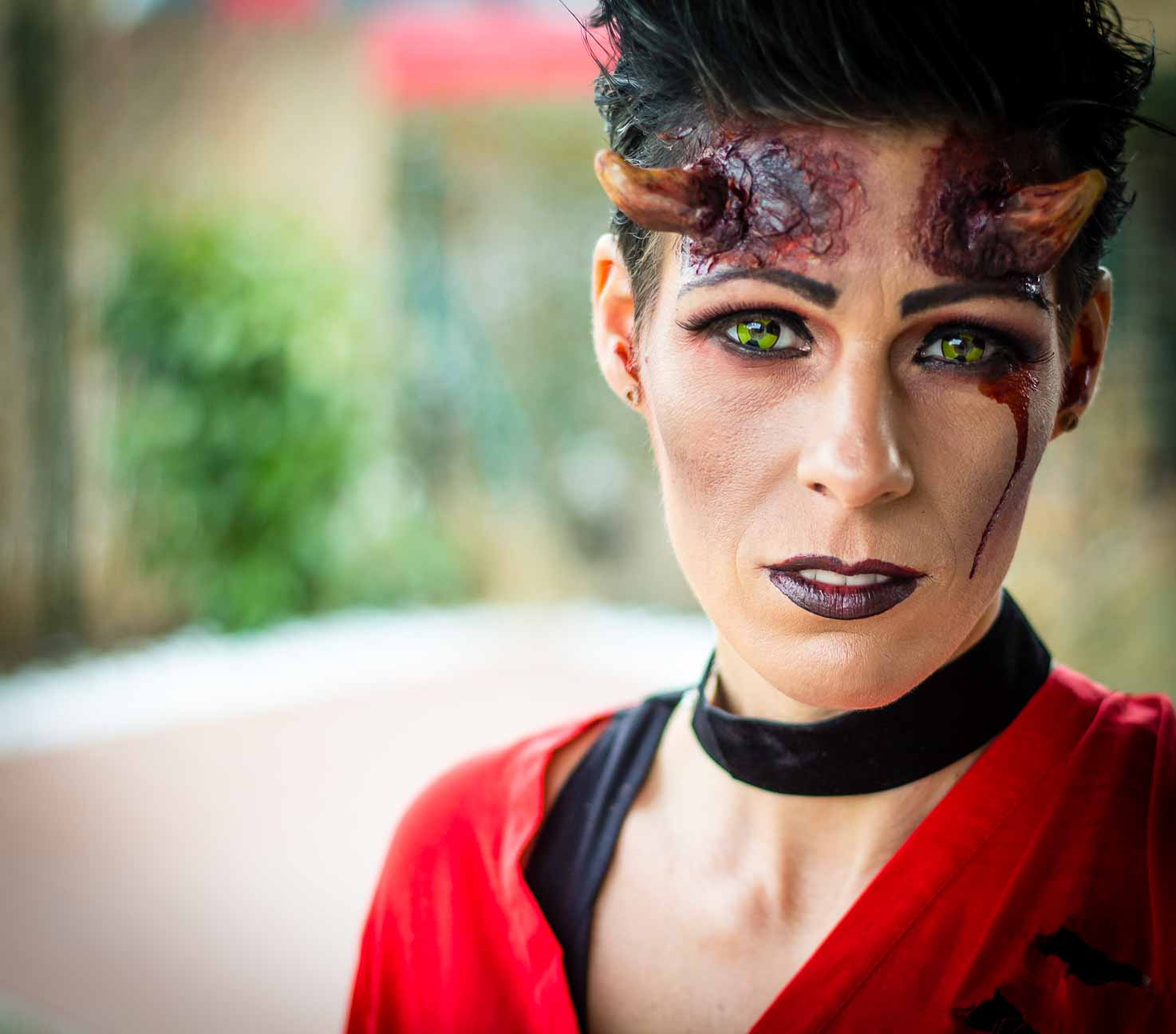 Halloween Devil Make up von Make up Artist Angie