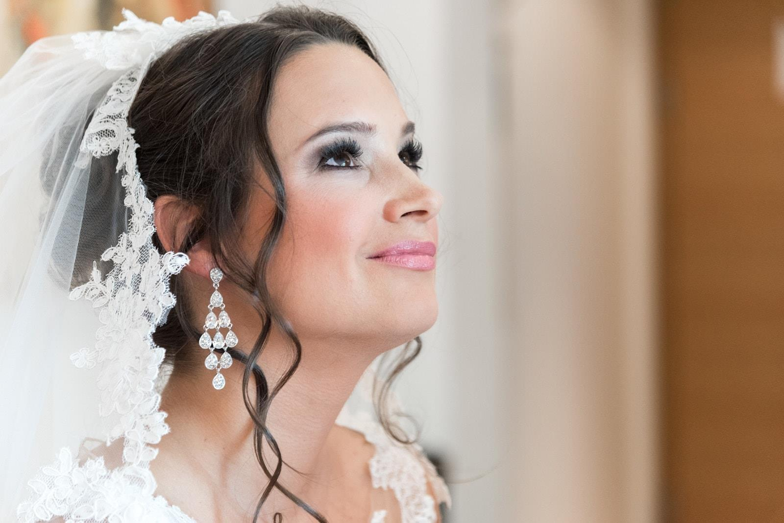 Hochzeits Make up und Hairstyling gemacht von Make up Artist Angie