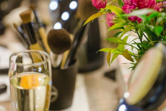 Make up Workshop fuer Gruppen von Make up Artist Angie